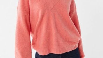 This Super Flattering Sweater From Urban Outfitters Is On Sale For Under $30--But It Won't Last Long!