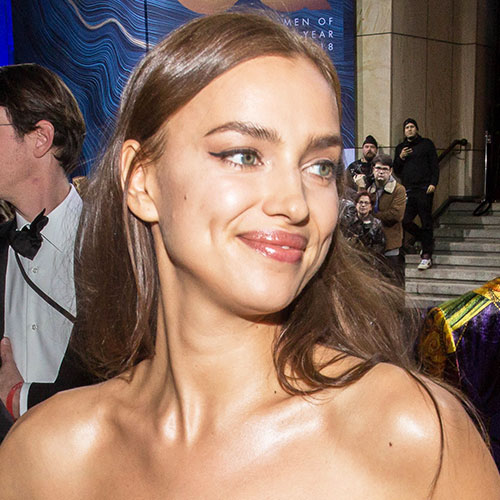 Irina Shayk Basically Just Flashed The Camera In A High