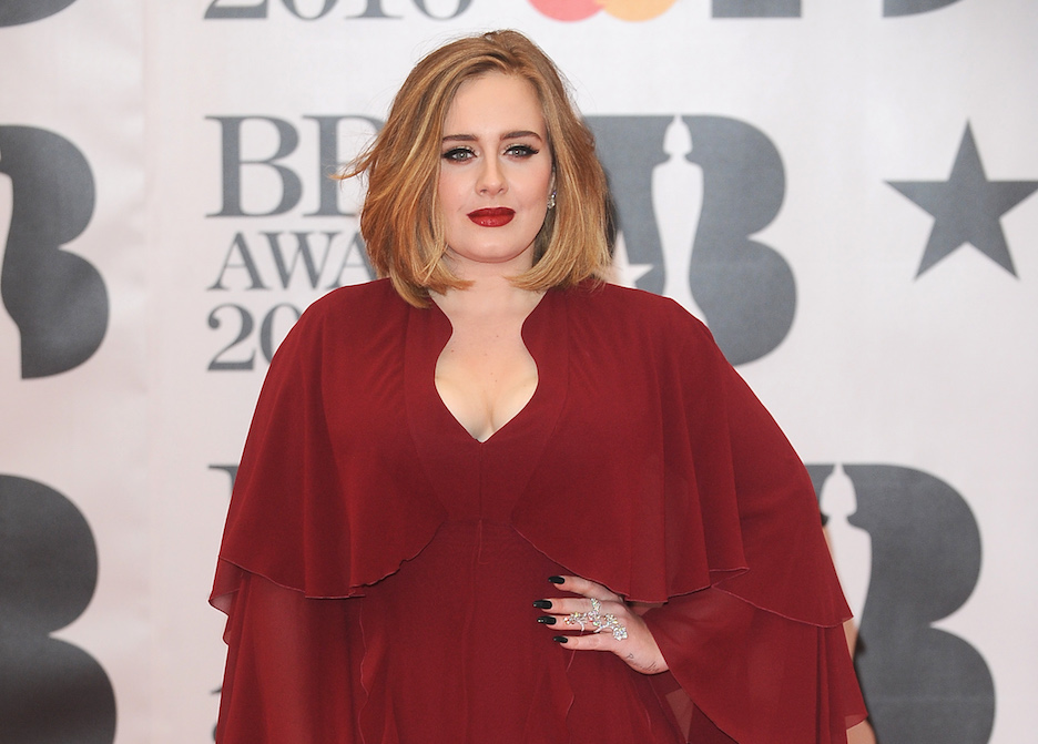Adele Is Barely Recognizable With Her New Dark Brown Hair--We Had To Do A Double Take!