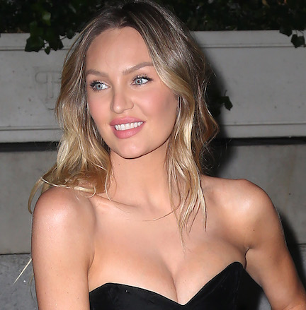 Your Jaw Is Going To Drop When You See The Tiny String Bikini Candice Swanepoel Just Wore