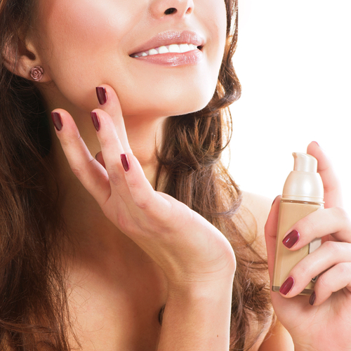 how to apply foundation to cover wrinkles