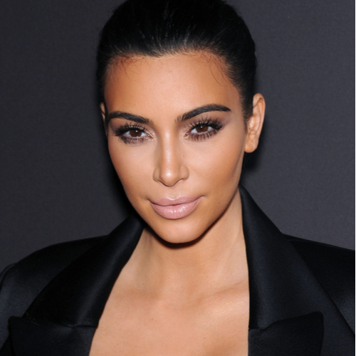 We've Never Seen Kim Kardashian's Boobs Look THIS Big--Her Dress Is SO Low Cut!