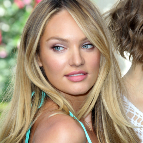 Candice Swanepoel's Bikini Bottoms Are Getting SO Tiny--She Looks Naked In This Red Thong Bikini