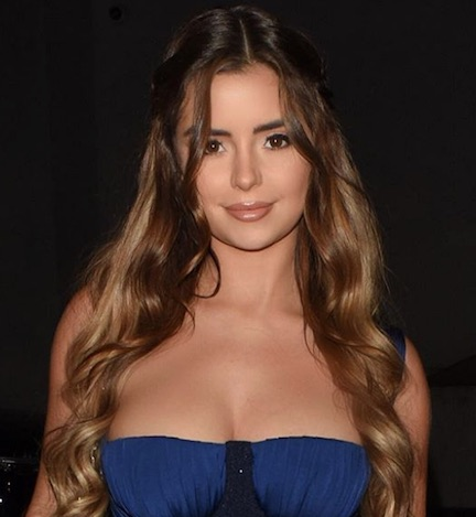 Demi Rose Is The Only Person Who Can Pull Off A String Bikini THIS Small