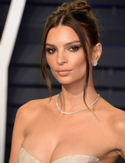 8c4b143519 Emily Ratajkowski Is Lucky She Didn t Have A Nip Slip In This Super Tiny  Crop Top—It s SO See-Through!