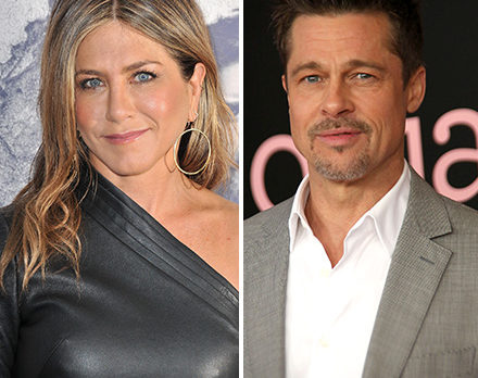 You Won't Believe What Jennifer Aniston and Brad Pitt Were JUST Caught Doing