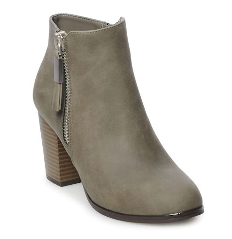4c344e1fa58 Kohls Just Put The Most Perfect Ankle Boots On Sale For  27 - SHEfinds