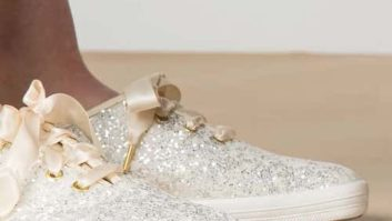 Drop What You're Doing--The Cult Keds x Kate Spade Glitter Sneakers Just Went On Sale!