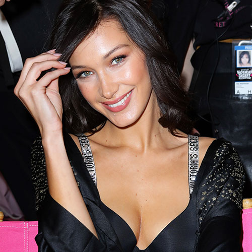 Did No One Tell Bella Hadid That Her Boobs Were COMPLETELY Falling Out Of Her Dress On The Red Carpet?