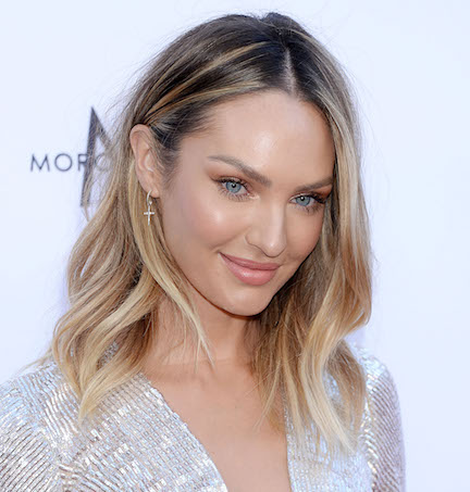 Candice Swanepoel Just Wore The Most Insane Dress We've Ever Seen—She's Basically Naked!