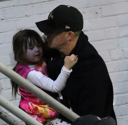 channing tatum holding daughter everly