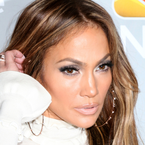 Jennifer Lopez Just Stripped Down To A Tiny Blue Bikini--It Leaves VERY Little To The Imagination