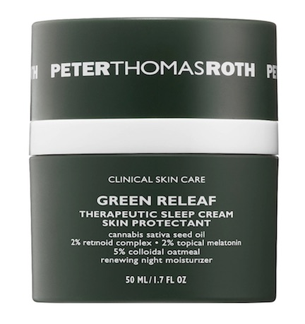 peter thomas roth green releaf therapeutic sleep cream