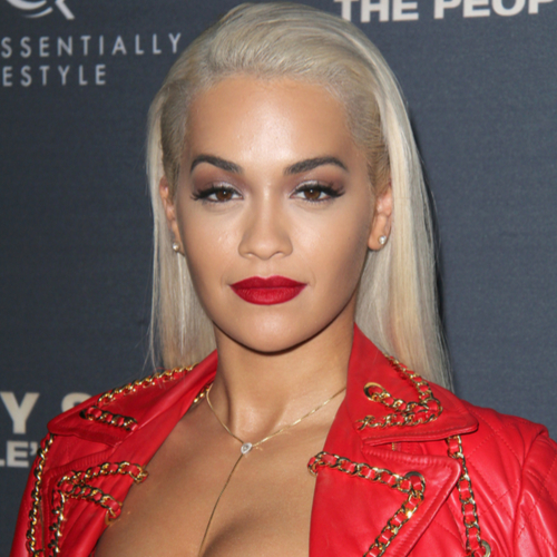 2aab176ac6ff Rita Ora's Busting Out Of This Dangerously Sheer Top--It's Definitely Too  Sexy For Instagram!