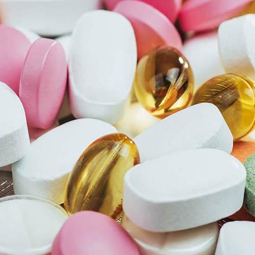 assorted supplements