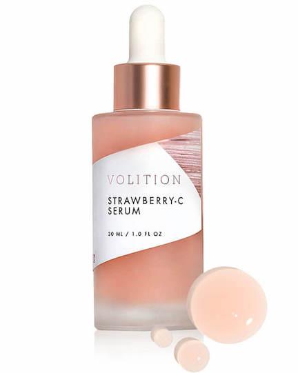 volition beauty strawberry-c brightening serum