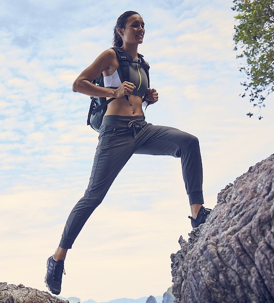 Athleta's New Wild At Heart Collection Will Take Your Outdoor Workouts To The Next Level