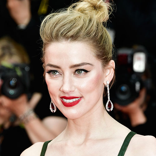We've Never Seen Amber Heard Look THIS Sexy Before—You Can See EVERYTHING In This Plunging Sheer Dress