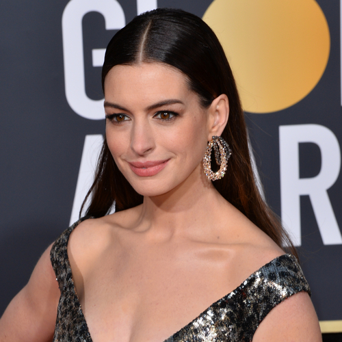Anne Hathaway Just Let It All Hang Out In A Sexy Low-Cut Top—So Scandalous!