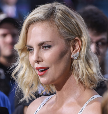 This May Be The Most Cleavage Charlize Theron Has EVER Shown On The Red Carpet