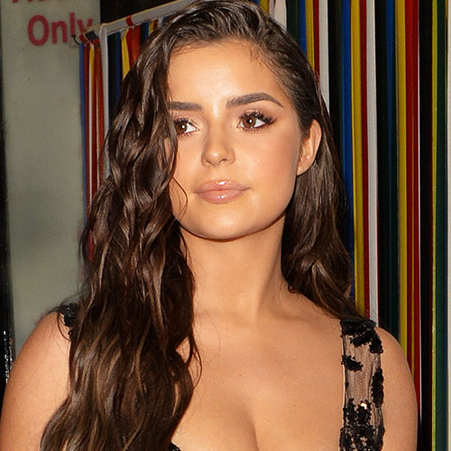 Demi Rose Just Stripped Down To A Tiny Orange Bikini--It Leaves VERY Little To The Imagination