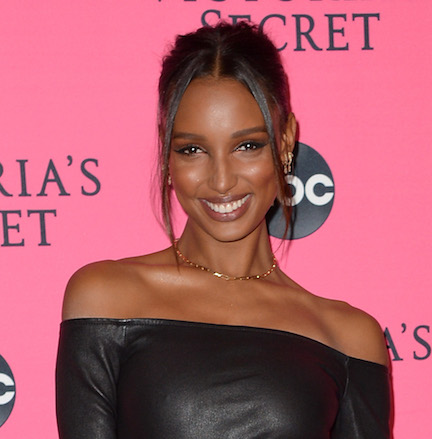 Jasmine Tookes Just Stripped Down To A Tiny Leopard Bikini--It Leaves VERY Little To The Imagination