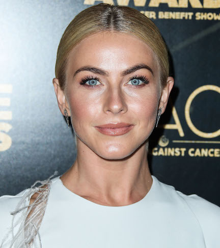 Only Julianne Hough Can Pull Off A Sports Bra THIS Tiny—Did We Mention It's Completely Sheer Too?!
