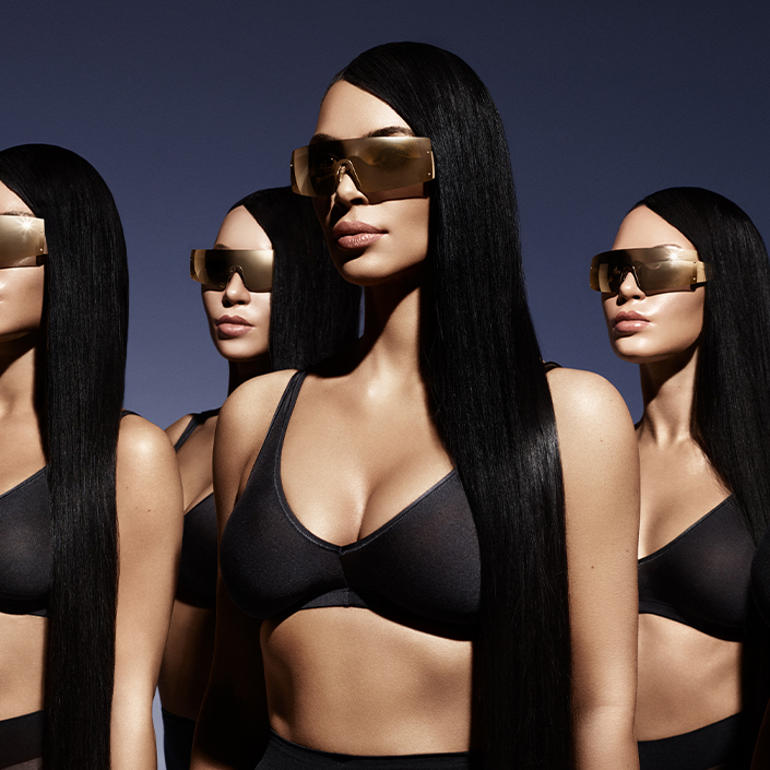 Kim Kardashian West's First-Ever Sunglasses Collaboration Is Here!
