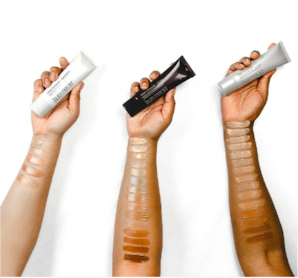 laura mercier tinted moisturizer oil free swatches