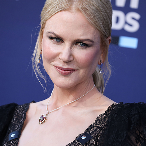 We've Never Seen Nicole Kidman Wear A Dress THIS Low-Cut On The Red Carpet--It's Shocking!