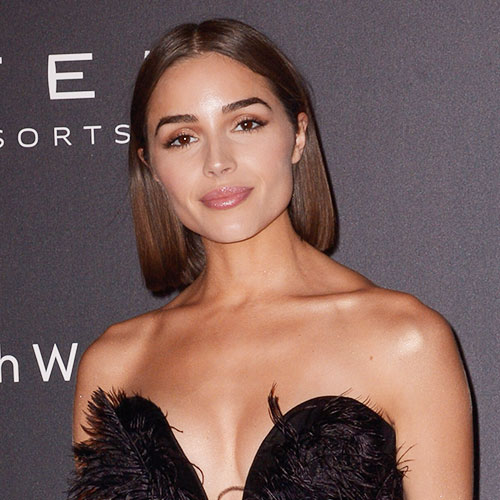 Olivia Culpo's Tiny Red Latex Dress Could Not Be Any Tighter