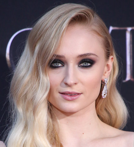 Sophie Turner Is Busting Out Of This Dangerously Low-Cut Dress--Her Chest Is Barely Covered!