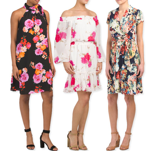 83dbf070c6db Nothing is as synonymous with spring as floral print, so you're not ready  for the season without a floral dress. Whether you go with a smaller print  in ...