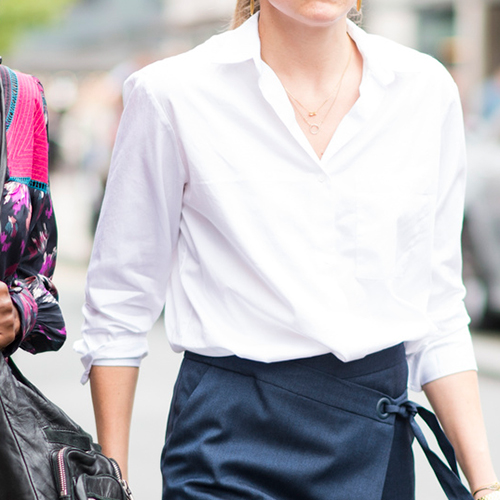 We Found The World's Most Flattering Button-Down Shirt--And It's Selling Out At Nordstrom!