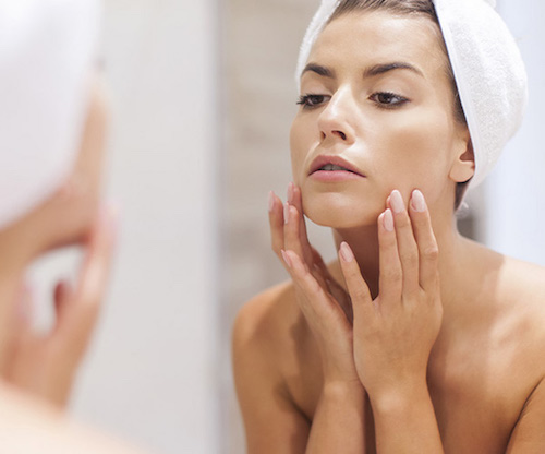 morning tips for glowing skin