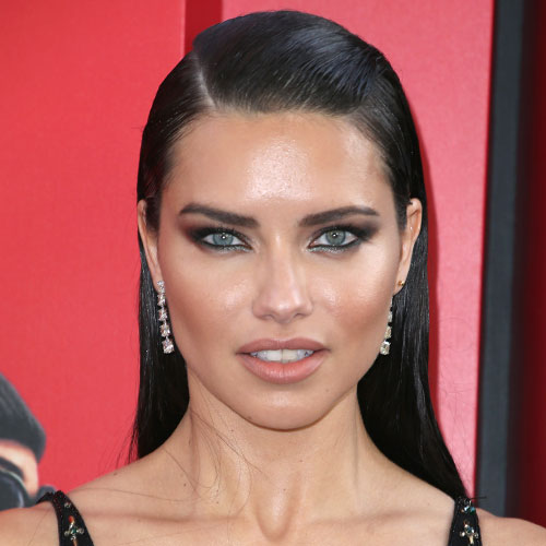 Adriana Lima's Sports Bras Keep Getting Smaller & Smaller--She's Showing SO Much Skin!