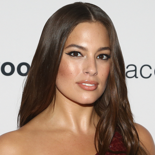 We're Surprised Ashley Graham Didn't Have A Wardrobe Malfunction In This Tiny Low-Cut Dress—She's Barely Covered!
