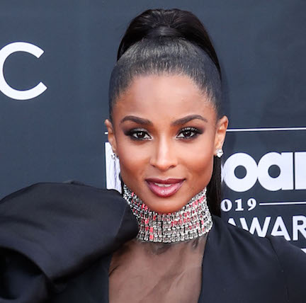 We're Surprised Ciara Didn't Have A Wardrobe Malfunction In This Dangerously Low-Cut Dress—She's Barely Covered!