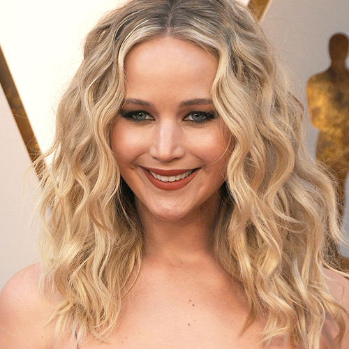 Jennifer Lawrence Is Busting Out Of This Low-Cut Dress—It's Definitely Too Sexy For Instagram!