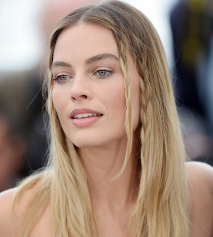 Margot Robbie Just Stripped Down To A Tiny White Bathing Suit—It's Too Hot To Handle!