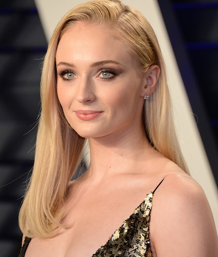 Sophie Turner Is Busting Out Of This Little Black Dress–It Might Be Too Sexy For Instagram!