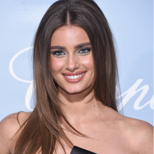 We're Surprised Taylor Hill Didn't Have A Wardrobe Malfunction In This Sheer White Dress—She's About To Flash The Camera!
