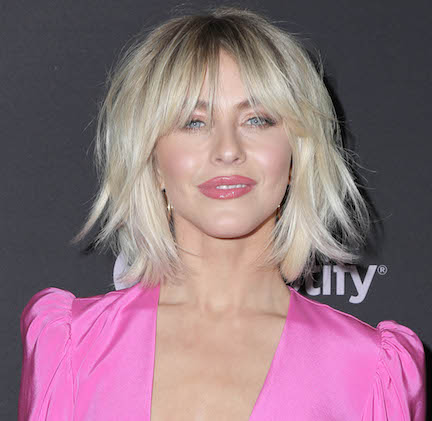 Julianne Hough Really Put It ALL On Display In This Tiny Black Sports Bra--She's Barely Covered!