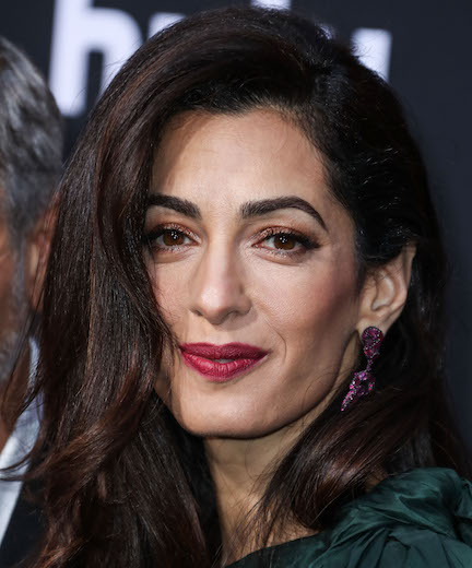 Amal Clooney Really Put It ALL On Display In This White Mini Dress–She's Barely Covered!
