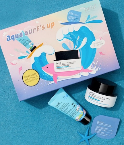 belif's Aqua Surf's Up Set Has All Of Your Favorites In