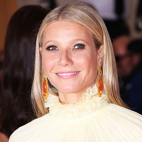 We've Never Seen Gwyneth Paltrow Wear A Dress This Low-Cut Before — Her Boobs Are Falling Out!