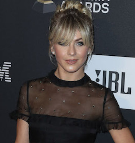 Julianne Hough Basically Just Flashed The Camera In This Low-Cut Dress–Did She Forget A Bra?