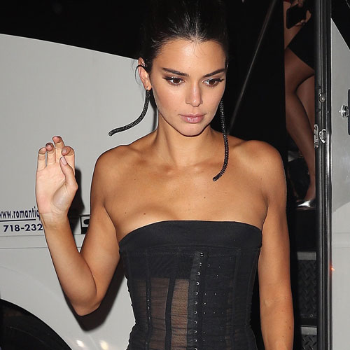 Kendall Jenner Just Wore The Most Insane Yellow Bikini--She's Barely Covered!