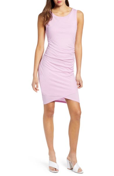 leith ruched dress sale