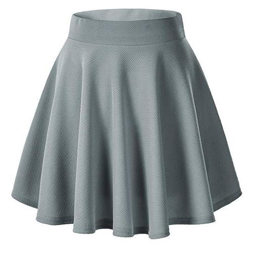ariana grande thank u next halloween costume grey skirt